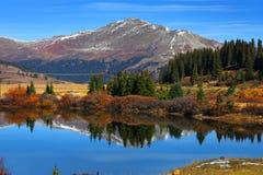 Buffehr lake Colorado royalty free stock photography