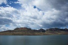 Buffel Bill Reservoir Royaltyfri Fotografi