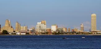 Buffel NY-horisont Arkivfoto