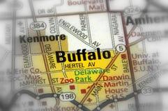 Buffel stat av New York - Förenta staterna Arkivfoton