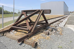 Buffer Stop Stock Image