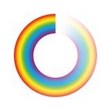 Buffering Circle Rainbow Colors Royalty Free Stock Photos