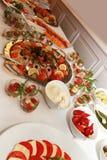 buffet праздничное Стоковое фото RF