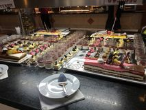 buffet immagine stock