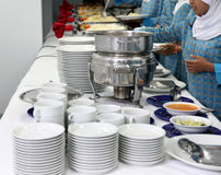 Buffet. Photograph of buffet food at banquette Stock Image
