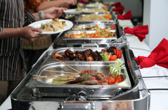 Buffet photo stock