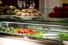 Buffet. View of a buffet in a restaurant Royalty Free Stock Photo