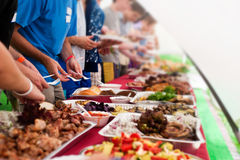 Buffet Royalty Free Stock Photos