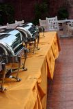 The buffet. Photograph of buffet event at banquet royalty free stock photos