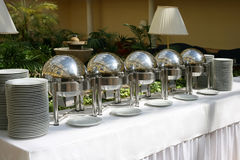 Buffet. An image of a upscale event buffet Royalty Free Stock Photo