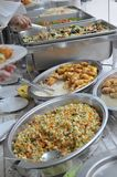 Buffet. A nice spread of buffet-style meal Royalty Free Stock Photos