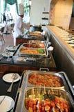 Buffet al ristorante fotografie stock libere da diritti