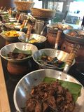 Buffet Asian food Royalty Free Stock Images