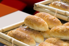Bread. Buffet the bread on the table. Pure and fresh and delicious Royalty Free Stock Image