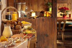 Buffet breakfast Stock Image