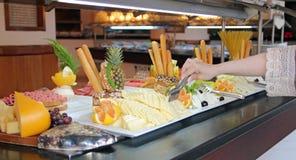 Buffet Breakfast Line Stock Photos