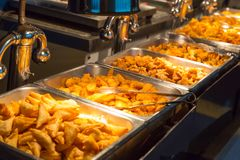 Buffet breakfast (smorgasbord) Royalty Free Stock Photo