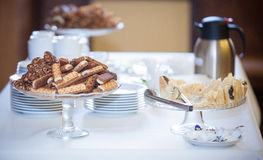 Buffet, cocktail party Royalty Free Stock Photos