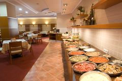 Buffet Counter Stock Images