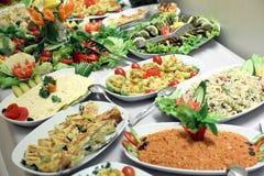 Buffet de salade Images stock