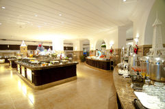 buffet de style occidental de nourriture Photos stock