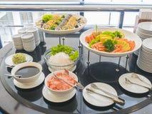 Buffet de sushi Photos stock