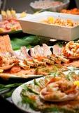 Buffet dell'alimento Immagini Stock