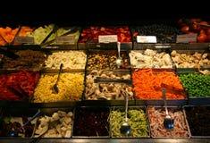 Buffet dell'insalata Immagini Stock Libere da Diritti