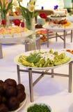 Buffet dessert dinner. Buffet food dessert dinner at restaurant with avocado fruit Stock Photo