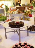 Buffet dessert dinner Royalty Free Stock Images