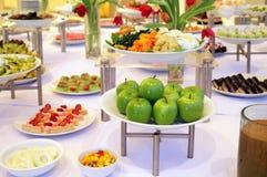 Buffet dessert dinner. Buffet food dessert dinner at restaurant Royalty Free Stock Image
