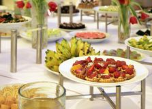 Buffet dessert dinner Stock Image