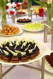 Buffet dessert dinner Stock Images