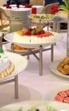 Buffet dessert dinner. Buffet food dessert dinner at restaurant Stock Photo