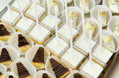 Buffet dessert table Stock Image