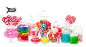 Buffet di Candy Fotografia Stock Libera da Diritti