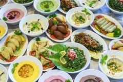 Buffet di Suhoor o di Ramadan Iftar fotografie stock