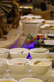Buffet dinner in China Royalty Free Stock Image