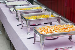Buffet dinner Stock Images