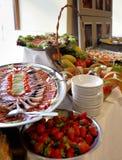 Buffet Dinner Dining Food Catering stock photos