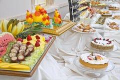 Buffet dolce. Fotografia Stock Libera da Diritti