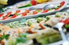 Buffet food Stock Photography