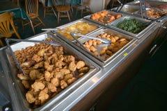Buffet food bar in Eastern Shore stock photos