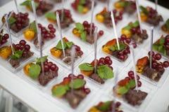 Buffet food Stock Photography