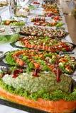 Buffet freddo di festa. Fotografie Stock