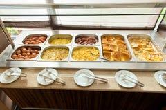 Buffet im Restaurant Stockbilder