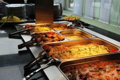 Buffet line Royalty Free Stock Photos