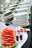 Buffet outdoor Stock Photo