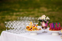 Buffet outdoor Royalty Free Stock Image