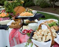 Free Buffet Outdoors Royalty Free Stock Image - 6223406